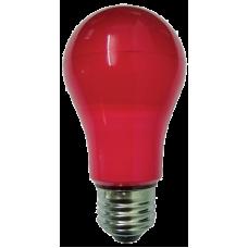 LED 6W 240V SZÍNES E27 PIROS
